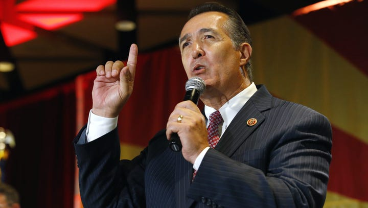 Rep. Trent Franks says liberals share blame for Montana Republican's attack on reporter