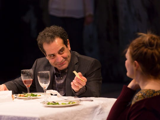 Tony Shalhoub plays Howard, a writer of popular detective