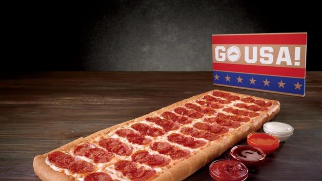 Big Flavor Dipper pizza