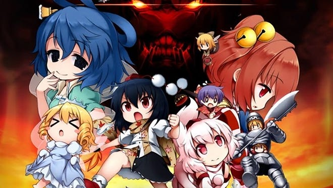 Touhou Double Focus for PlayStation 4 and Vita.