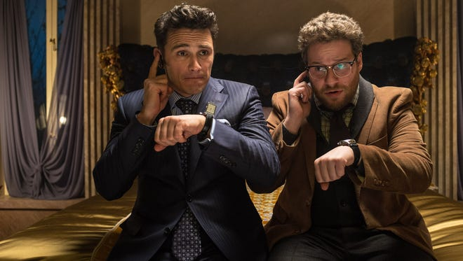 """James Franco and Seth Rogen in """"The Interview."""""""