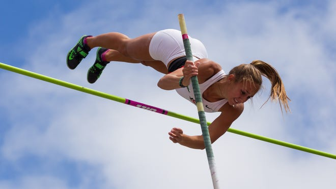 San Diego State pole vaulter and Wrightstown native Bonnie Draxler was the Green Bay YMCA's first Level 10 gymnast.