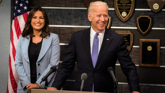 Vice President Joe Biden will make a special appearance on 'Law & Order: SVU' Wednesday.