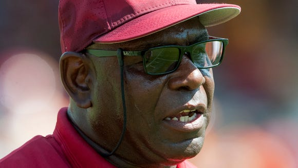 Tuskegee coach Willie Slater has led the Golden Tigers