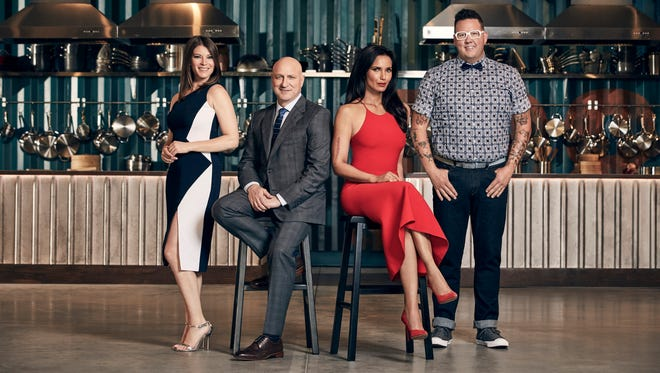 "Bravo's ""Top Chef"" is coming to Kentucky to film season 16. Pictured here from last season, left to right: Gail Simmons, Tom Colicchio, Padma Lakshmi, Graham Elliot."
