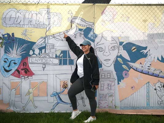 Camden mural unveiled