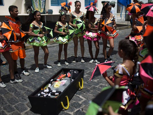 Brazil Zika LCarnival