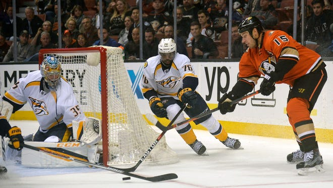 The Predators and Ducks will meet for the third time in the Stanley Cup playoffs.