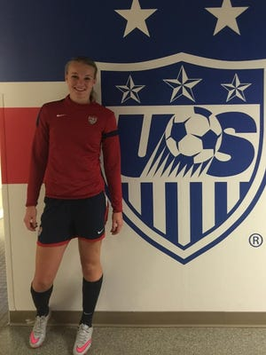 Bath senior Mackenzie Smith is one of 24 players at a U.S. Soccer Under-19 woment's national team training camp.