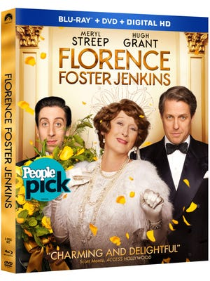 'Florence Foster Jenkins' is new out on DVD.