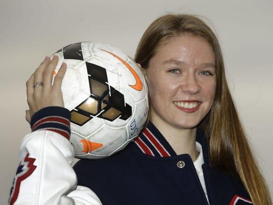 Scottsdale Christian Academy soccer player Dasha Kem