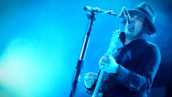 Jack White performs at the inaugural Firefly Music Festival in Dover in 2012.