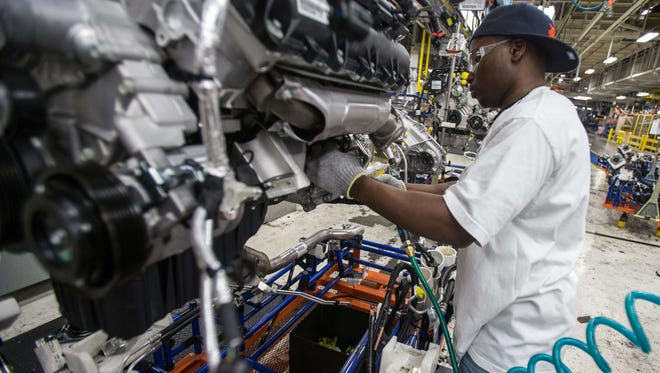 A strengthening dollar has hurt US manufacturers in recent weeks.