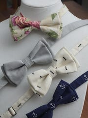 Pre-tied designs by Reign Bow Ties