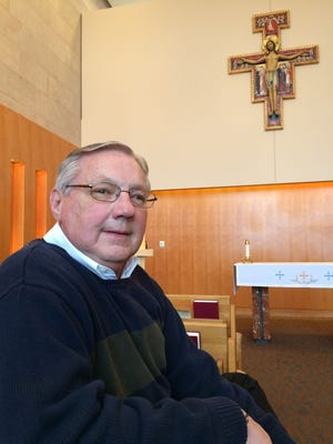 The Rev. Duane Hamilton of Wausau is among 20 ordained or licensed clergy throughout the state who are serving the Wisconsin State Patrol as volunteer chaplains in a new support program for agency employees and their families. Hamilton is pictured in the chapel of Ministry Saint Clare's Hospital in Weston, where he is a part-time chaplain.