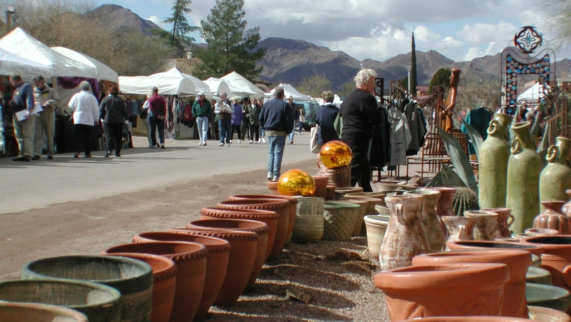 Tubac fall arts and crafts festival for Arts and crafts festival