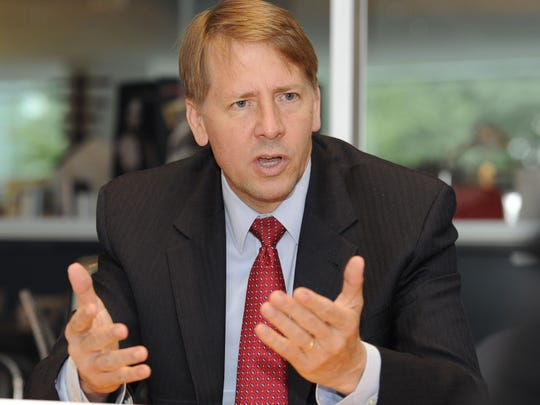 Richard Cordray, head of the Financial Consumer Protection