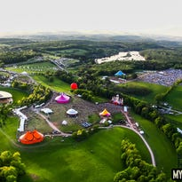 An attraction at Mysteryland USA at Bethel Woods Center in 2014.