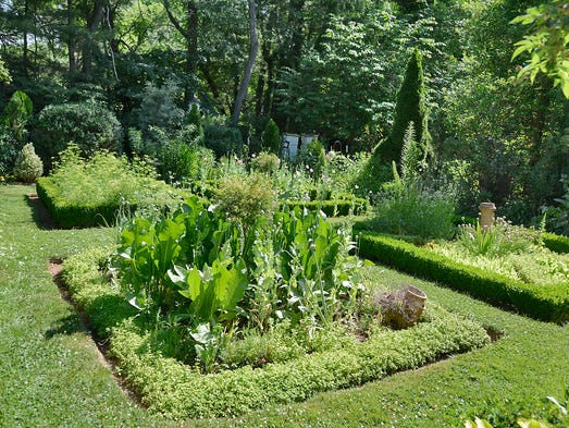 The Weaverville home of Joel Cole is surrounded by extensively landscaped gardens and will be part of the Father's Day Garden Tour June  14-15. 06/10/2014