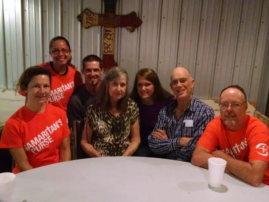 #1 photo Joy with Samaritans Purse volunteers