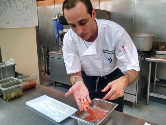 Simon Kitchen + Bar Jeremy Saccardi cured salmon demo (2).jpg