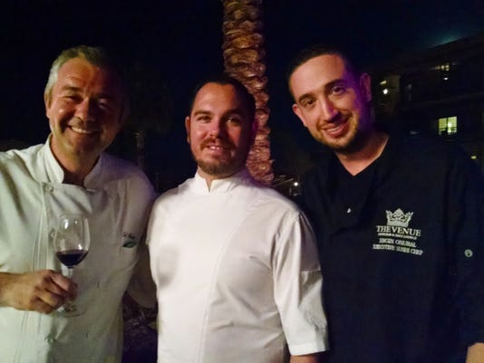 Pendleton chef auction - Alain Redelsperger, Michael Beckman, Engin Onural (.jpg