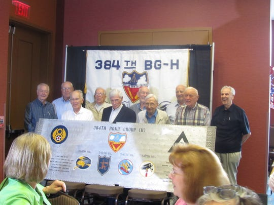 B-17G wing panel signing in Branson, Mo., Sept. 2010.