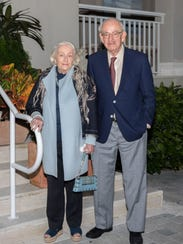 """Robin and Barry MacTaggert at the inaugural""""Seed to"""
