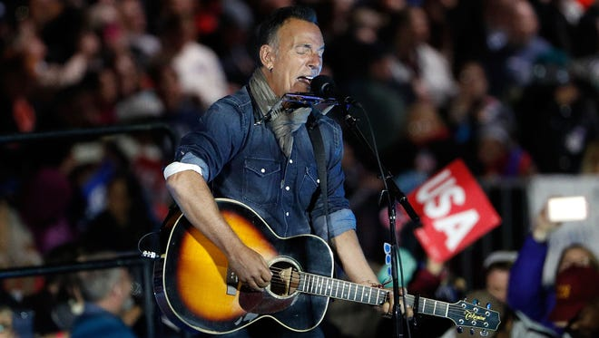 Bruce Springsteen will be awarded the Presidential Medal of Freedom.