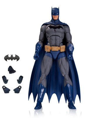 """Batman leads a new line of """"DC Comics Icons"""" action figures coming in the fall."""