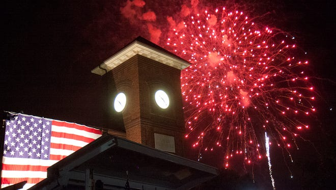 Greer's annual Freedom Blast in City Park brought out an overflow crowd to enjoy the entertainment and fireworks display. A tribute to service members and their families was also a high light of the evening.