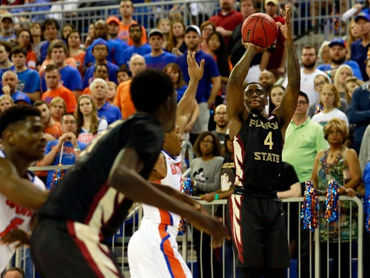 NCAA Basketball: Florida State at Florida