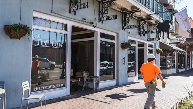 The Tin Cow Downtown closed temporarily of it own accord Friday, Jan. 19, 2018, after the Florida Department of Business and Professional Regulation cited the restaurant with 11 violations.