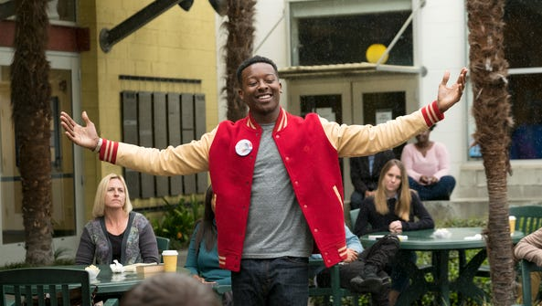 Brandon Micheal Hall as Courtney Rose on 'The Mayor.'