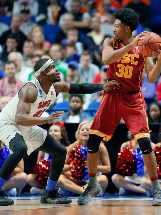 Southern California rallies again to knock SMU out of NCAA ...
