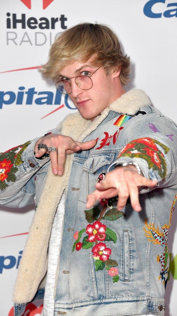 Logan Paul attends 102.7 KIIS FM's Jingle Ball 2017 presented by Capital One at The Forum on December 1, 2017 in Inglewood, California. Credit: Frazer Harrison, Getty Images
