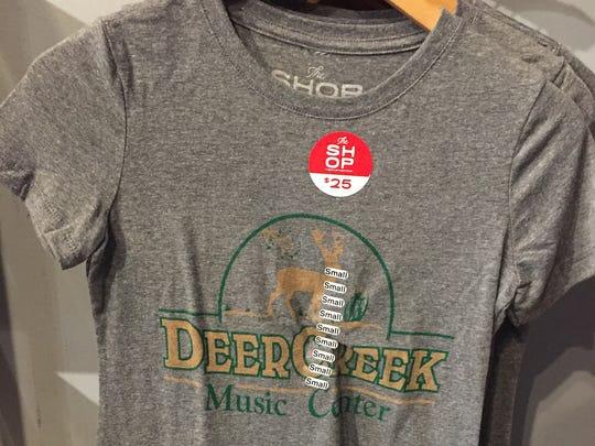 Deer Creek Music Center T-shirt at the Shop.
