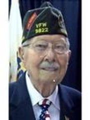 Robert Mathis was active in veterans organizations since 1943.