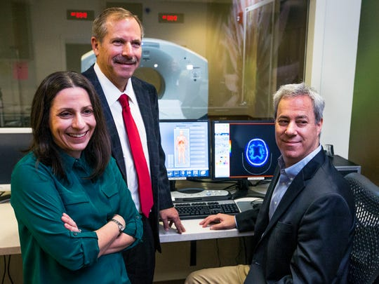 Jessica Langbaum, Pierre Tariot and Eric Reiman are part of the Banner Alzheimer's Institute team in Phoenix working to develop treatments that could delay or stave off the disease.