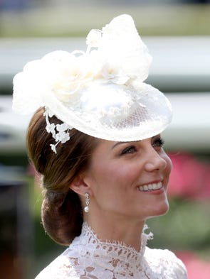 Duchess Kate attends Royal Ascot 2017 at Ascot Racecourse