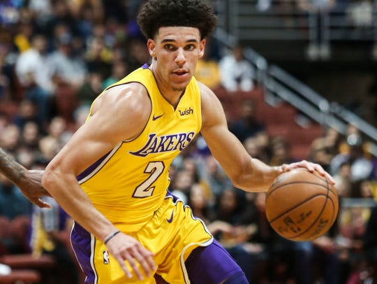 Los Angeles Lakers guard Lonzo Ball promises to be