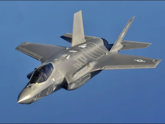 Securing the F-35 bid is one of Mayor Todd Strange's
