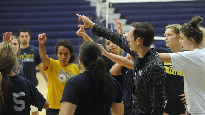 Coach Dan Meske and the Vikings opened the year with four games in two days at the Ichabod Invitational.
