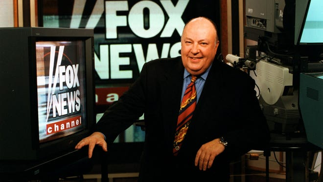 Then-Fox News CEO Roger Ailes in 1996.