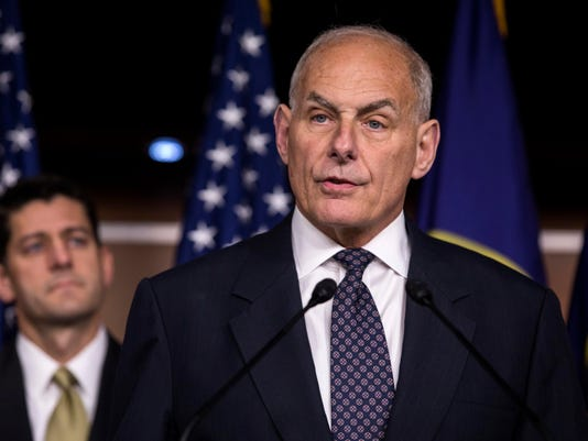 Trump announces John Kelly will replace Priebus as Chief of Staff
