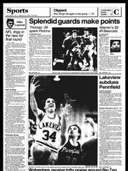 BC Sports History: Week of Jan. 7, 1986