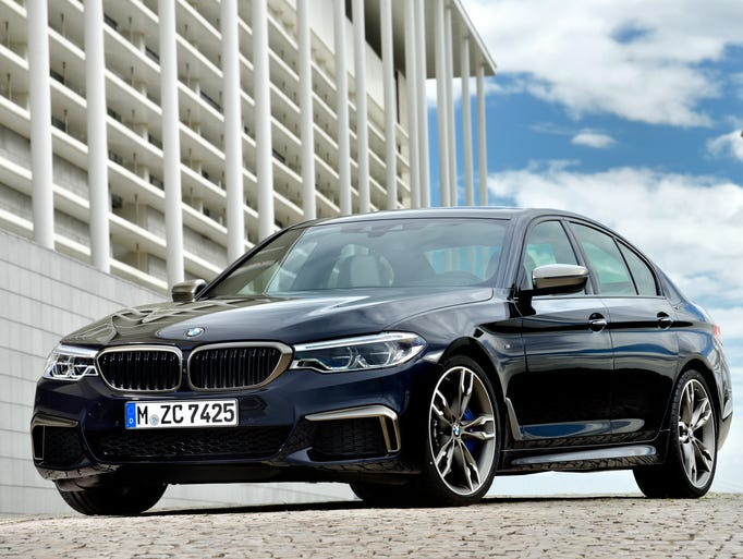 The new BMW M550i xDrive will assume the status of