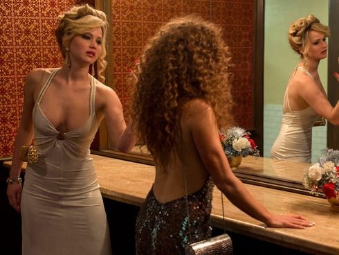 Claudia Puig predicts Jennifer Lawrence, left, will continue her winning ways at this year's Golden Globes for her performance in 'American Hustle.'