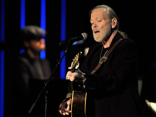 Gregg Allman  performs at the 2011 Americana Music