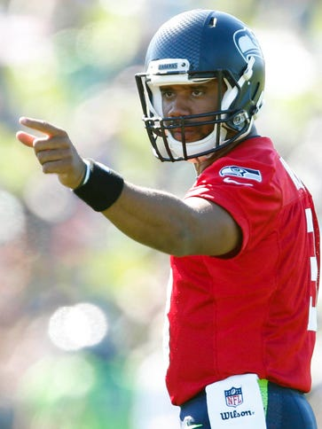 Russell Wilson has led the way to 42 victories in his